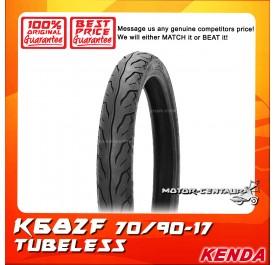 KENDA TUBELESS TYRE K682F 70/90-17