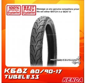 KENDA TUBELESS TYRE K682 80/90-17