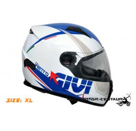 GIVI FULL FACE HELMET M50.1 VENTO XL GRAPHIC DART BLUE