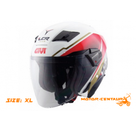 GIVI JET HELMET M30.3 D-VISOR XL GRAPHIC LCR TEAM
