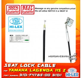 TSK SEAT LOCK CABLE 31D-F478E-00 FOR YAMAHA LAGENDA 115 Z 31D