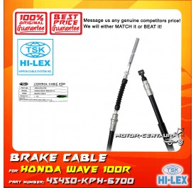 TSK FRONT BRAKE CABLE 45450-KPH-6700 FOR HONDA WAVE 100R KTLT