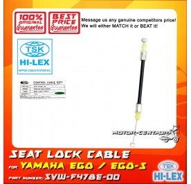 TSK SEAT LOCK CABLE 5VW-F478E-00 FOR YAMAHA EGO 5VW