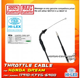 TSK THROTTLE CABLE 17910-KFVG-6900 FOR HONDA DREAM KFVV