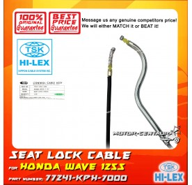 TSK SEAT LOCK CABLE 77241-KPH-7002 FOR HONDA WAVE 125 S KVLF