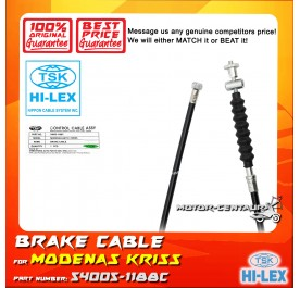 TSK BRAKE CABLE 54005-1188 FOR MODENAS KRISS