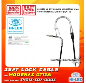 TSK SEAT LOCK CABLE 54012-507-0002 FOR MODENAS GT128