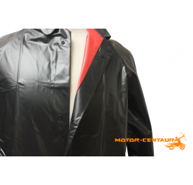 RAINBOW PVC RAINCOAT 54 108 BLACK