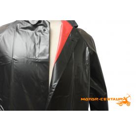RAINBOW PVC RAINCOAT 54 3018 (THICKER) BLACK