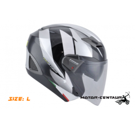 GIVI JET HELMET M30.3 D-VISOR L GRAPHIC SPEED BLACK