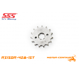 SSS FRONT STEEL SPROCKET RS150R 428-15T