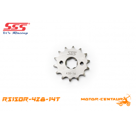SSS FRONT STEEL SPROCKET RS150R 428-14T