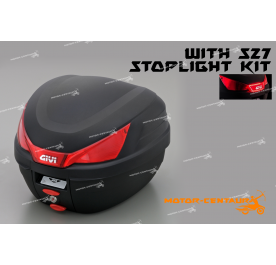 GIVI B27N TOP CASE + S27 STOP LIGHT KIT