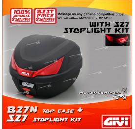 GIVI B27N TOP CASE + S27 STOP LIGHT KIT
