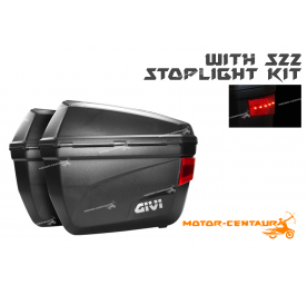 GIVI E22N SIDE CASES + S22 STOP LIGHT KIT