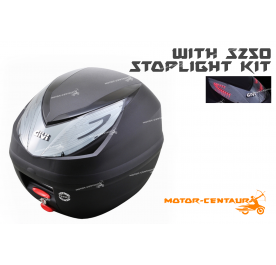 GIVI E250N2 TOP CASE + S250 STOP LIGHT KIT