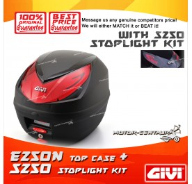 GIVI E250N TOP CASE + S250 STOP LIGHT KIT