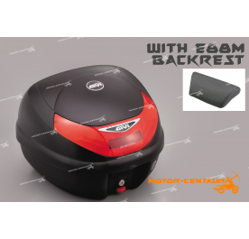 GIVI E30TN TOP CASE + E88M BACKREST
