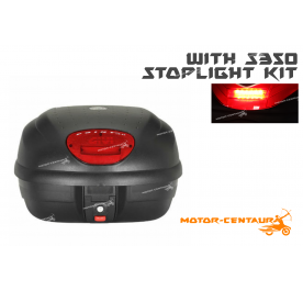 GIVI E33N TOP CASE + S350 STOP LIGHT KIT