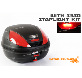 GIVI E370N TOP CASE + S350 STOP LIGHT KIT