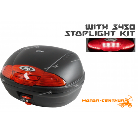 GIVI E450N TOP CASE + S450 STOP LIGHT KIT