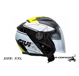 GIVI JET HELMET M30.2 PRESTO XXL GRAPHIC RACING BLACK