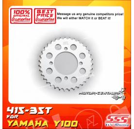 SSS REAR STEEL SPROCKET Y100, SRL110, Y125Z, RXZ, LC135, DV110, EVOZ 415-35T