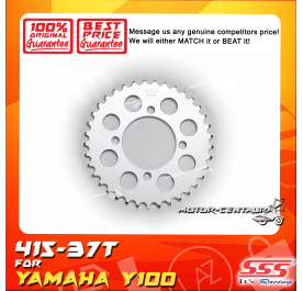 SSS REAR STEEL SPROCKET Y100, SRL110, Y125Z, RXZ, LC135, DV110, EVOZ 415-37T