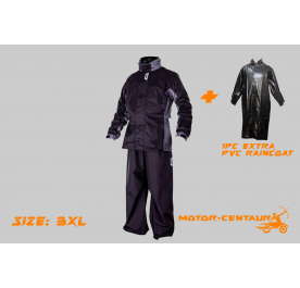 GIVI RRS07 RAINCOAT 3XL + RAINBOW PVC FREE SIZE RAINCOAT