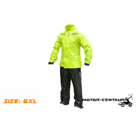 GIVI COMFORT RAINSUIT CRS02 6XL HIGH VISIBILITY YELLOW