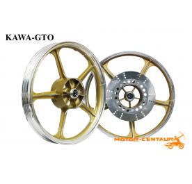 KAWA-GTO SPORT RIMS AR125 1.60X18(F) 1.85X18(R) GTO GOLD