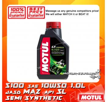 MOTUL 4T ENGINE LUBRICANT 5100 SAE 10W50 1.0L