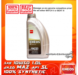 ENEOS 4T FULLY SYNTHETIC ENGINE LUBRICANT 4T MA2 SAE 10W50 1L