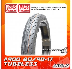 ARC-V TUBELESS TYRE A900 80/90-17