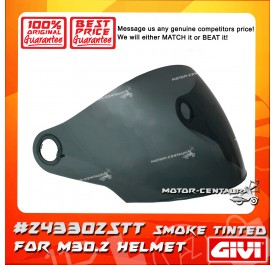 GIVI VISOR FOR M30.2 HELMET (#Z43302STT) SMOKE TINTED