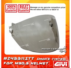 GIVI VISOR FOR M30.3 HELMET (#Z4311STT) SMOKE TINTED