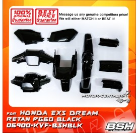 HONDA BSH BODY COVER FOR EX5 DREAM RETAN PG60 BLACK