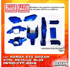 HONDA BSH BODY COVER FOR EX5 DREAM VITAL METALLIC BLUE