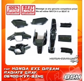 HONDA BSH BODY COVER FOR EX5 DREAM RADIATE GREY