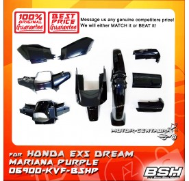HONDA BSH BODY COVER FOR EX5 DREAM MARIANA PURPLE
