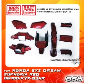 HONDA BSH BODY COVER FOR EX5 DREAM EUPHORIA RED