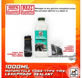 XIAOMAOLV TYRE LEAKPROOF SEALANT (W/ RIM BELT AND RUBBER SHRED) 1L
