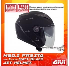 GIVI JET HELMET M30.2 PRESTO S MATT BLACK