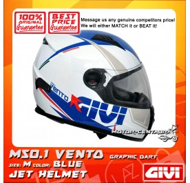 GIVI FULL FACE HELMET M50.1 VENTO M GRAPHIC DART BLUE