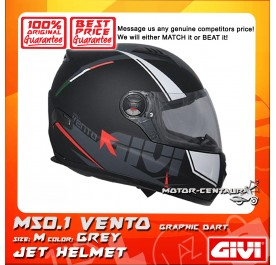GIVI FULL FACE HELMET M50.1 VENTO M GRAPHIC DART GREY