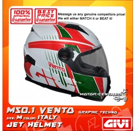GIVI FULL FACE HELMET M50.1 VENTO M GRAPHIC TECHNO ITALY