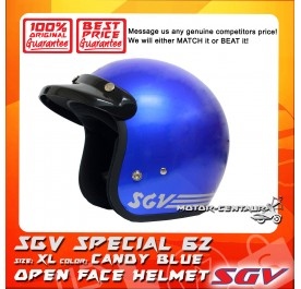 SGV HELMET SPECIAL62 CANDY BLUE