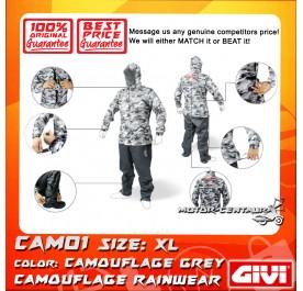 GIVI RAINSUIT CAM01 XL CAMOUFLAGE