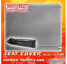 SUNOTO SEAT COVER [BASIC] HONDA HURRICANE BLACK