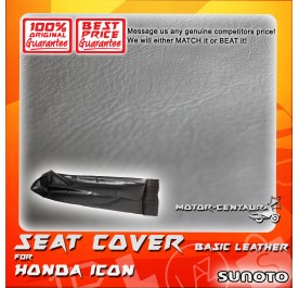 SUNOTO SEAT COVER [BASIC] HONDA ICON BLACK